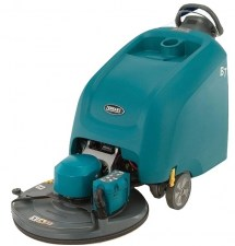 Tennant B7 Battery Powered Walk Beind Floor Burnisher Demo